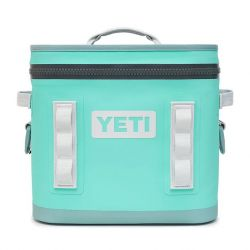 Yeti Hopper Flip 12 Soft Cooler - Aquifer Blue