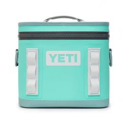 Yeti Hopper Flip 8 Soft Cooler - Aquifer Blue