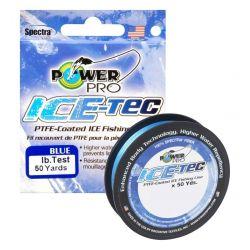 Power Pro Ice-Tec Braid Marine Blue 50yds - 10 lb