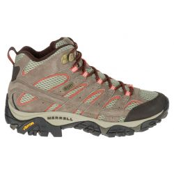 Merrell Women's Moab 2 Mid Waterproof Hiking Boots - Bungee Cord