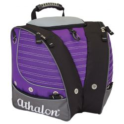 Athalon Kids Tri-Athalon Personalizable Boot Bag - Purple/Grey
