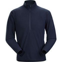 Delta Lt Zip Neck - Kingfisher