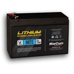 Marcum Mite 7.5 AH Lithium Ion Battery