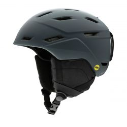 Smith Men's Mission MIPS Helmet Large - Matte Charcoal