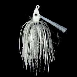 Outkast Tackle Pro Swim Jig 1/4 oz - White Lighting