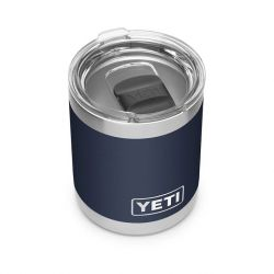 Yeti Rambler Lowball With Magslider Lid 10 OZ - Navy