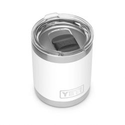 Yeti Rambler Lowball With Magslider Lid 10 OZ - White