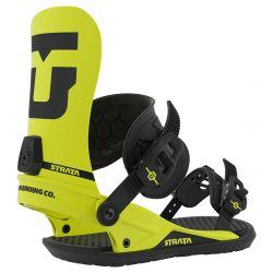 Union Strata Snowboard Bindings Large Hazard Yellow - 2020