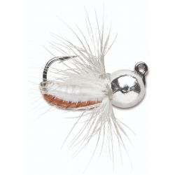 Vmc Tungsten Fly Jig 1/32 oz - Metallic Silver