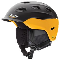 Smith Men's Vantage MIPS Snow Helmet Small - Matte Black/Hornet