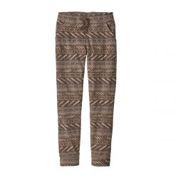 Patagonia W Snap-t Fleece Pants - Furry Taupe