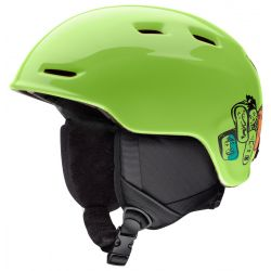 Smith Youth Zoom Jr Snow Helmet - Flash Faces