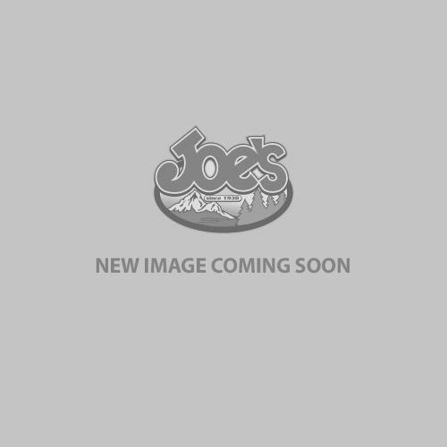 Skimmer Polarized Sunglasses- Matte Silver + Translucent Grey/Orange - Blue Mirror 580p