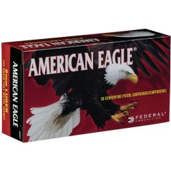 American Eagle 9 mm Luger Ammo 50 Rounds - 124 Grain/Full Metal Jacket