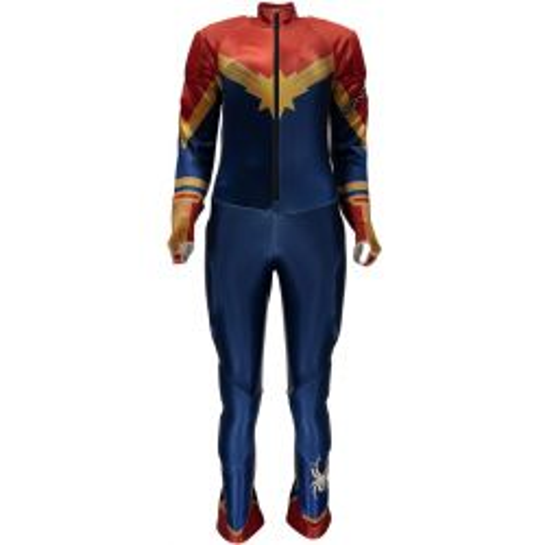 Girls' Marvel Performance GS Race Suit - Captain Marvel