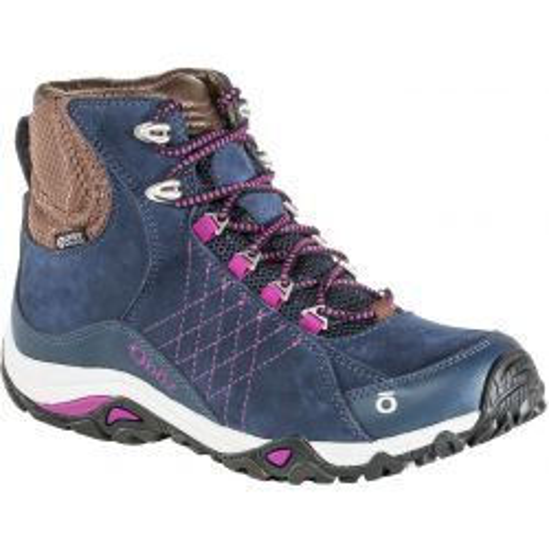 Women's Sapphire Mid Waterproof Hiking Boots - Huckleberry