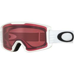 Youth Line Miner Goggle - Matte White/Prizm Snow Rose