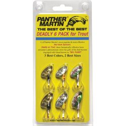 Best of the Best 6 Pack Inline Spinners