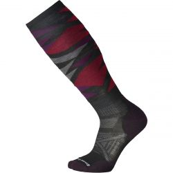 Men's Phd Ski Light Patern Sock - Black