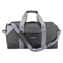 Heavy Duty Duffel W/ Neoprene Gear Bag 24 in - Gray
