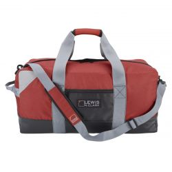 Heavy Duty Duffel W/ Neoprene Gear Bag 24 in - Red
