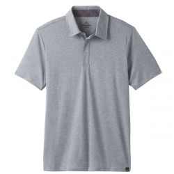 Neriah Short Sleeve Polo - Silver Spray