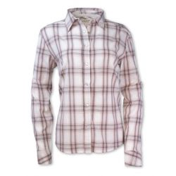 Women's Madras Plaid Shirt - Pink