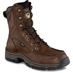 "Men's Havoc Leather 9"" Waterproof Double Wide Boot"