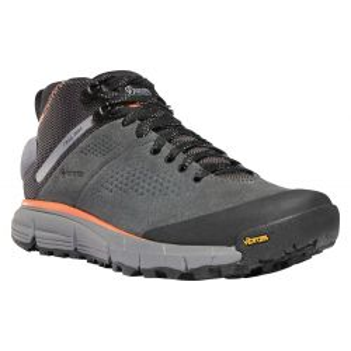 Women's Trail 2650 GTX Mid Waterproof Hiking Shoes - Dark Gray / Salmon