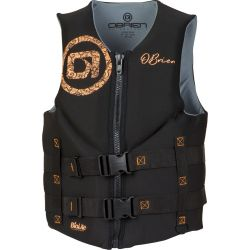 Women's Traditional PFD Large - Black/Coral