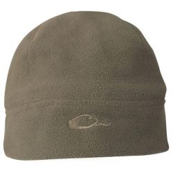 Youth Windproof Fleece Beanie - Olive