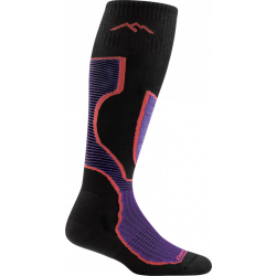 Women's Outer Limits Padded Light Cushion Over The Calf Sock - Black