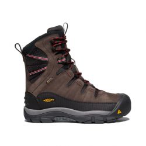 Men's Summit County 400g Waterproof Boot - Mulch / Black