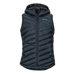 Women's Highlander Hoody Vest - Black