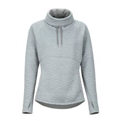 Women's Annie Long Sleeve Pullover - Grey Storm