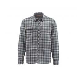 Guide Flannel Long Sleeve Shirt - Steel Plaid