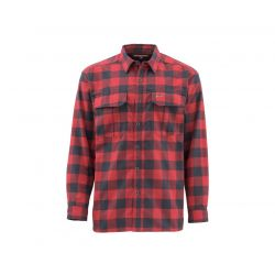 Coldweather Long Sleeve Shirt - Red Buffalo Plaid