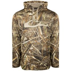 Men's Camo Performance Hoodie - Realtree Max-5