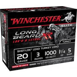 "Long Beard XR 20 Gauge 3"" - 1-1/4 oz./5 Shot"