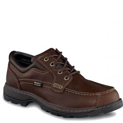 Men's Soft Paws Leather UltraDry Oxford Double Wide Shoe
