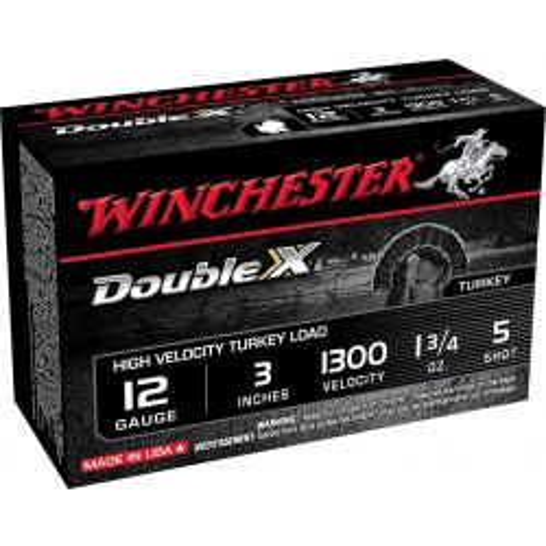 "Double X Tukey Load 12 Gauge 3"" - 1-3/4 oz./5 Shot"