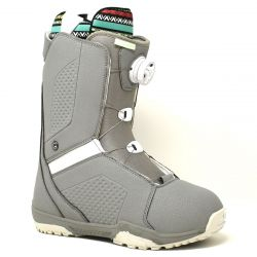 Women's Hyku Snowboard Boots - Grey/White