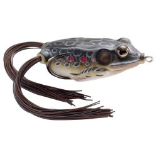 Hollow Belly Frog 5/8 oz - Brown Black