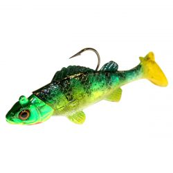 Impulse Live Rigged Paddle Minnow 3/8 oz - Perch