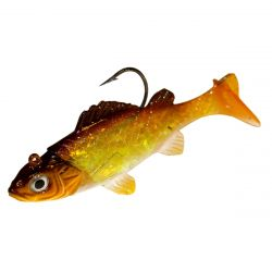 Impulse Live Rigged Paddle Minnow 3/8 oz - Walleye