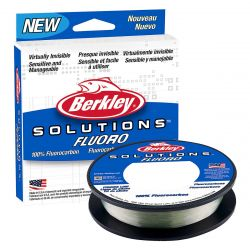 Solutions 100% Fluorocarbon Clear 200 yds - 8 lb