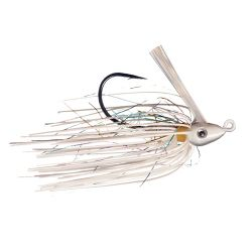 Pro Swim Jig Light Wire 3/8 Oz - White Rainbow